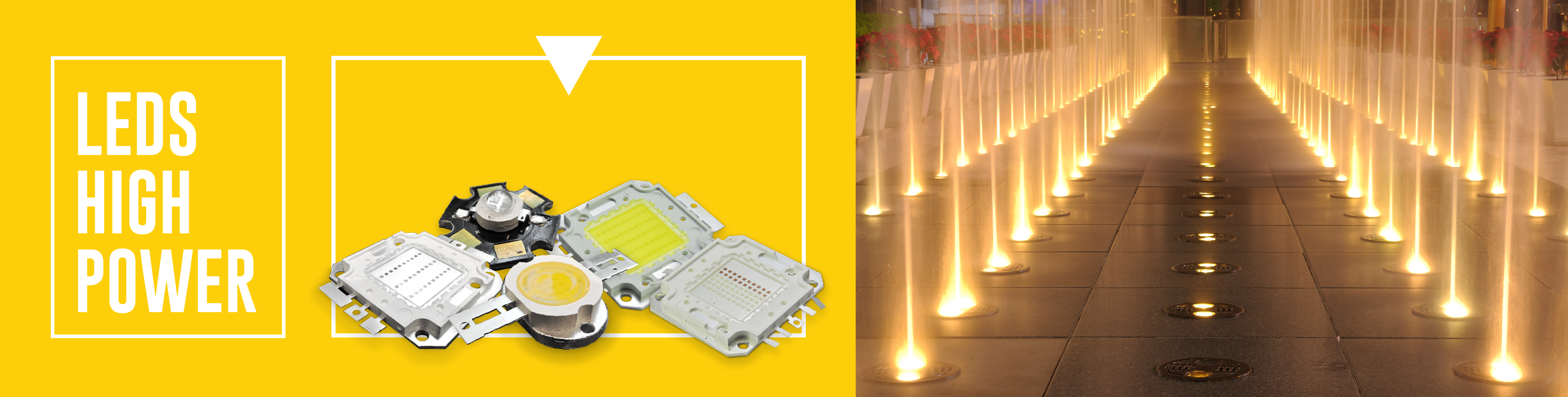 LEDs High Power - Alta potencia