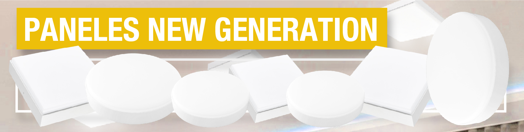 Paneles LED ★ NEW GENERATION ★ Frameless de Aplicar
