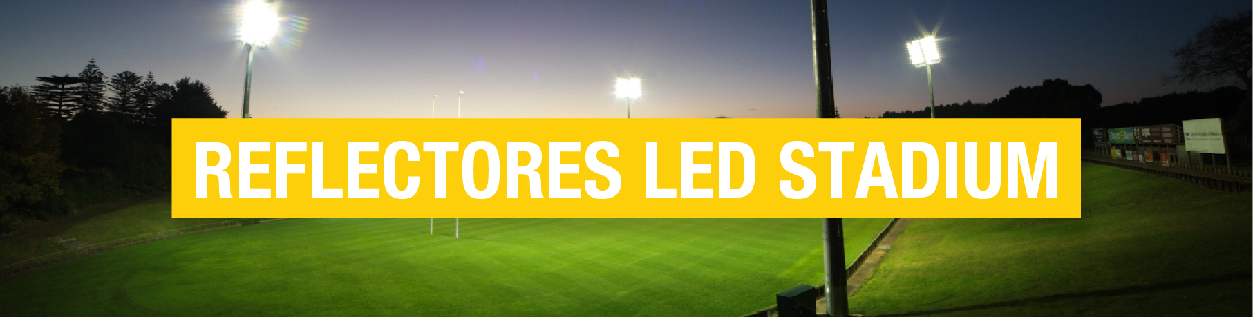 Reflectores LED Stadium